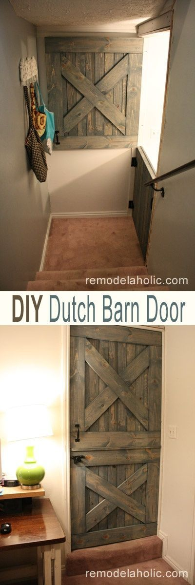 Make this diy dutch barn door plans and instructions for Dutch barn shed plans
