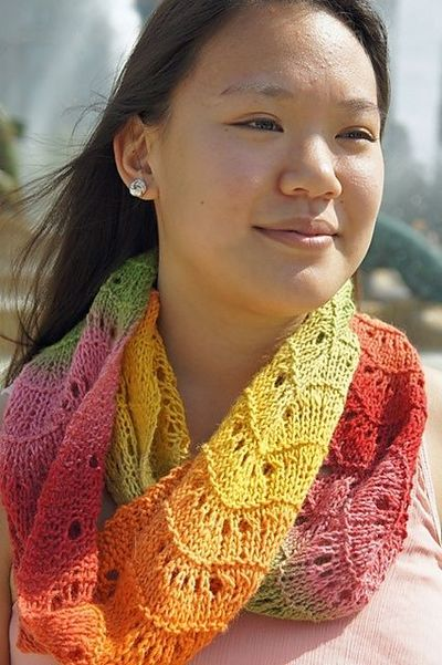 Free Pattern Urban Lace Infinity Scarf By Tanis Gray Crochet