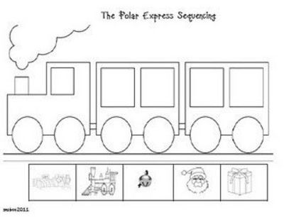 The Polar Express sequencing and other activities / christmas xmas ...