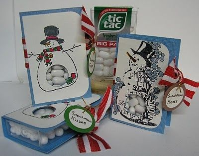 Snowman Tic Tac Covers