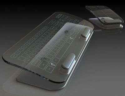 Multi-Touch Keyboard & Mouse.