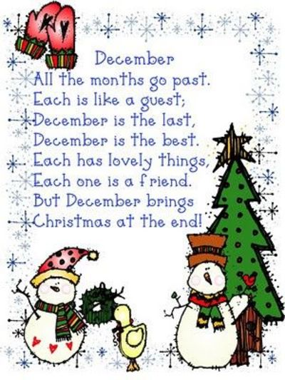 December Poem Christmas Xmas Ideas Juxtapost