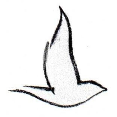 Simple sparrow drawings - photo#21