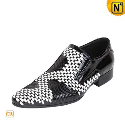 Patent Leather Dress Loafers for Men CW769857 - cwmalls.com