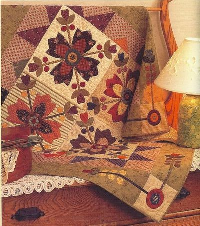 Kim Diehl Pattern Country Whig Rose Love Her Quilts