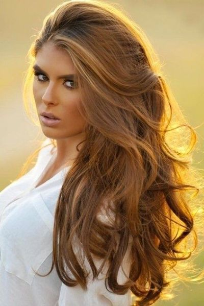 Light golden brown/honey hair color - love this color! / hair tips