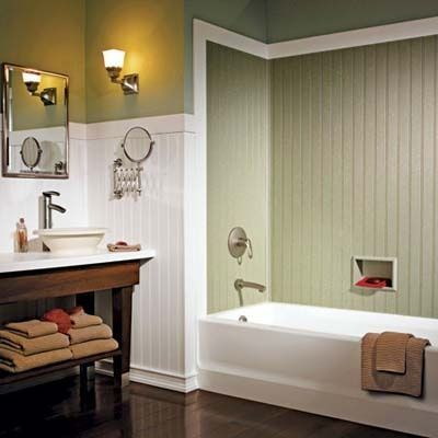 Waterproof Beadboard For Tub Surround Tall Wainscoting