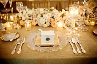 Champagne, Blush and Gold Wedding Inspiration / wedding ideas ...