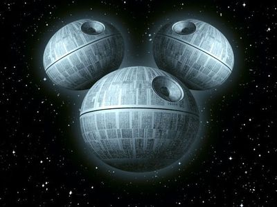 The New Death Star by GENZOMAN (Disney has aquired Lucasfilm-This means more Star Wars films!)