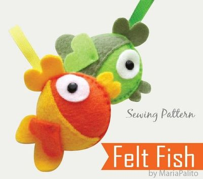 sewing patterns: fish hat tutorial - crafts ideas - crafts for kids