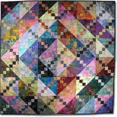 Bermuda Sunrise Quilt Pattern - a batik stashbuster / quilting ... : quilt patterns for batiks - Adamdwight.com