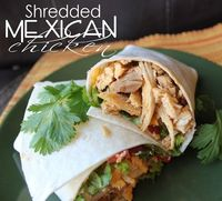 Shredded Mexican Chicken (Crock Pot or Stove Top)