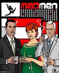 Mad Men Archer Mashup