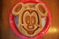 Mickey Waffles... you know it's a good day.