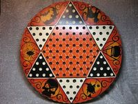 Painted Gameboard