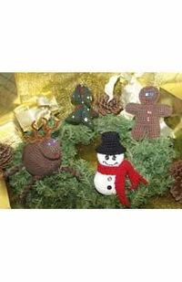 Knitted & Crocheted Christmas Tree Ornaments