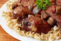 Coq Au Vin: Here is a Daring Gourmet version of this classic dish, maximizing its luxurious flavors while mainta...[read more at Food Frenzy]