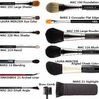 """Ideal Brush Kit>>key word """"ideal"""" e.l.f brushes are just as good as Mac..& they're affordable $1-$3"""