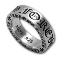 Chrome Hearts Forever Silver Ring 6mm Spacer Sale