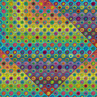Quilty as Charged art print