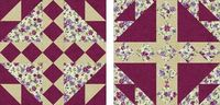 Quilt Block Patterns: Bird's Nest