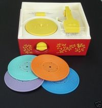 Fisher Price Record Player - best ever.