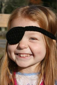 Pirate Patch by Just me...Val, via Flickr
