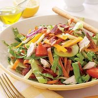 Low-fat Chef's Salad #recipe