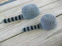 Need to remember to crochet this Davy Crockett hat :))