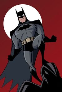 Batman: animated series style by Luciano Vecchio