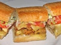 Po'Boy chicken sandwich