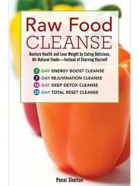 The Raw Food Cleanse. The Diet: The Raw Food Cleanse is a three-, seven-, 14-, or 28-day plan that claims to reset your digestive tract. It's based on the theory that cooking depletes foods of nutrients, so you should eat fruits and vegetables in thei...