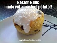 Boston Buns... made with mashed potato!