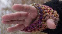 Mikey's Crochet fingerless Gloves... Quick project and makes a great gift.