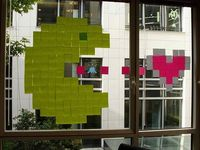 Post it wars