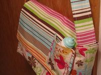 Twelve Crafts Till Christmas: pretend and play changing pad, doll carrier, diaper bag, wipes, diapers