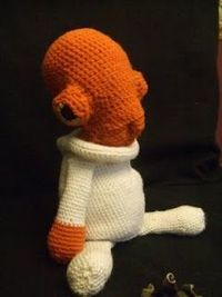 Star Wars Crochet - Admiral Ackbar -It's a Trap