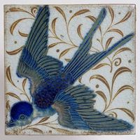 yama-bato: Tile De Morgan, William Frend, born 1839 - died...