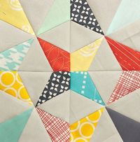 Paper Pieced Kaleidoscope Tutorial by Brooke at Pitter Putter Stitch