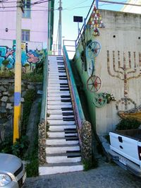 Piano Stairs in Italy