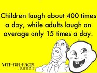 Childern laugh about 400 times- Lol Image