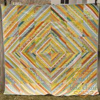 from the blue chair: A Strings Bee Quilt...wow what a gorgeous quilt love the fresh modern colors!
