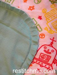 Robot Burp Coths and Blankets