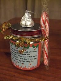 DIY- Hot Cocoa Mix Gift- With Free Printables !