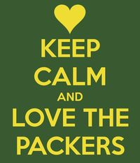 KEEP CALM AND LOVE THE PACKERS