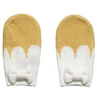 Girls Mustard Yellow Cashmere Blend Mittens - Accessories - Girl | Childrensalon
