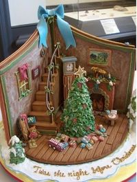 gingerbread downstairs
