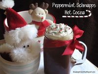peppermint schnapps hot cocoa (from scratch) recipe