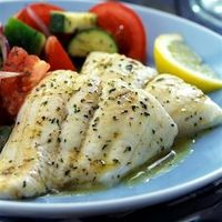 Garlic Herb Tilapia: Mild, flaky tilapia, seasoned with a savory herb butter and baked to perfection. - Click image to find more popular food & drink Pinterest pins