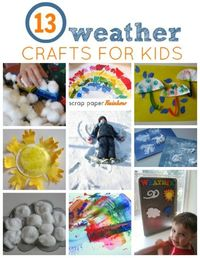 weather crafts for kids